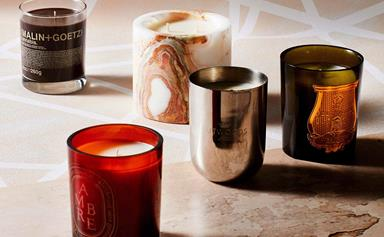 16 decadent scented candles we're burning this winter