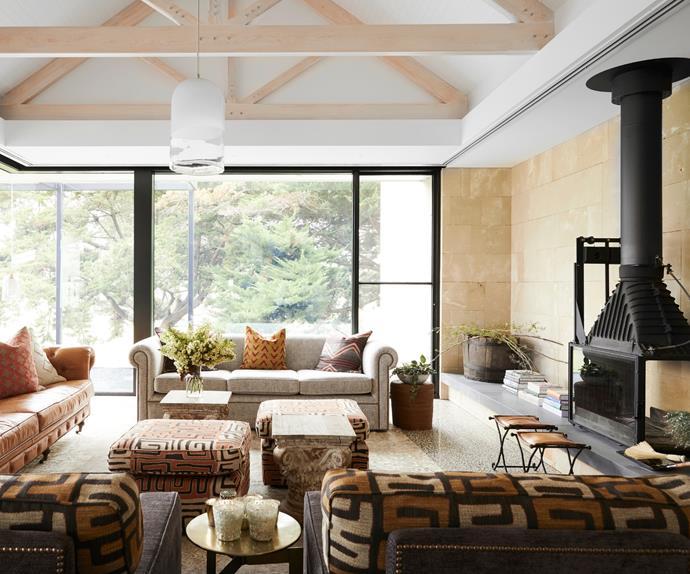 Darren Palmer living room