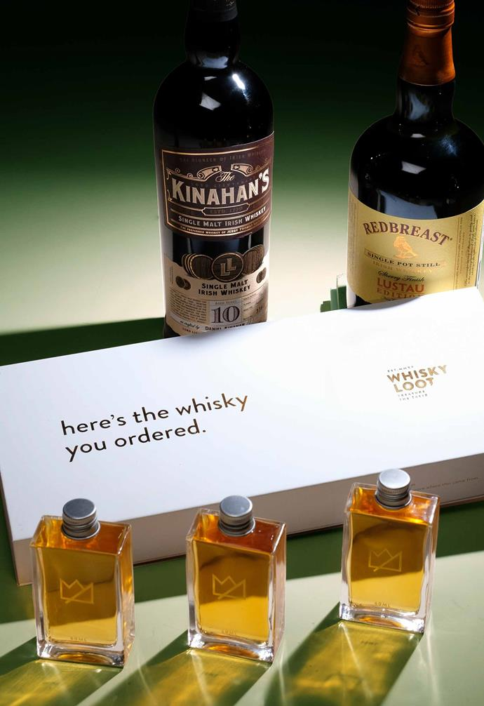 """**WHISKEY LOOT**<br><br>Designed by whiskey lovers, for whiskey lovers, the [Whiskey Loot](https://whiskyloot.com/