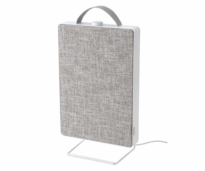 """**FORNUFTIG Air Purifier in white, $89, [IKEA](https://www.ikea.com/au/en/p/foernuftig-air-purifier-white-70461960/ target=""""_blank"""" rel=""""nofollow"""").**<br><br>Compact and extremely portable, IKEA's new FORNUFTIG Air Purifiers combine the Swedish furniture giant's flair for pared-back design with all the required hard-working elements that go into ensuring clean air circulates around the home. FORNUFTIG comes with a clever particle filter and can be paired with a special gas filter (purchased separately) to filter out 99.5 percent of smaller airborne particles."""