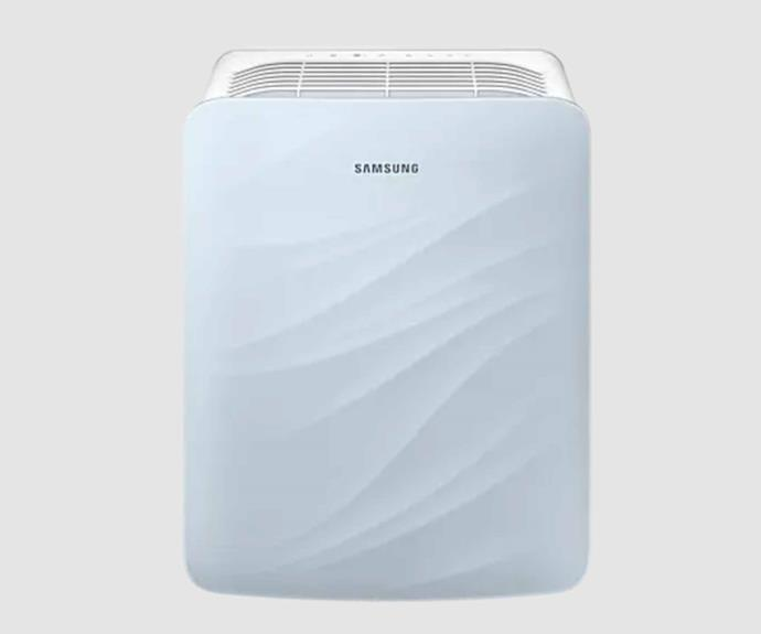 """**Samsung AX40T3020 Air Purifier, $199, [Samsung](https://www.samsung.com/au/air-care/air-purifier/axf500-multi-layered-purification-ax40t3020wu-sa/ target=""""_blank"""" rel=""""nofollow"""")**.<br><br>Samsung's AX40T3020 can purify the air in a room of up to 39 metres square, making it perfect for compact homes and smaller rooms. The purifier features a true HEPA filter and features a clever sleep mode which will have it quietly purifying the air while you sleep. In addition to sleep mode, the purifier also boasts a child-safety lock to discourage accidental activation."""