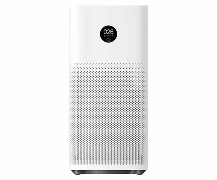 """**Xiaomi Mi Air Purifier 3H, $169, [Kogan](https://www.kogan.com/au/buy/xiaomi-mi-air-purifier-3h-global-model-xiaomi/ target=""""_blank"""" rel=""""nofollow"""")**.<br><br>Make the most of your smart home with Xiaomi's Mi Air Purifier which can be controlled through your voice with Google Home and Amazon's Alexa. Boasting a true HEPA filter, built-in Wi-Fi and an OLED touch display, the Mi Air Purifier is ideal for rooms of up to 45 metres squared. And the best part? Kogan will send it to your home for free, when you sign up to their new First programme."""
