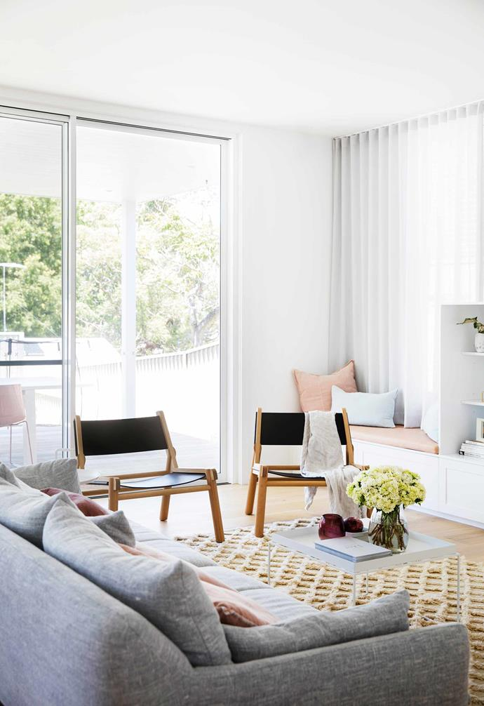 """If you have an [open-plan living](https://www.homestolove.com.au/modern-living-room-ideas-18535 target=""""_blank""""), dining and kitchen space, an air purifier will ensure those mixed cooking smells won't infiltrate the living room."""