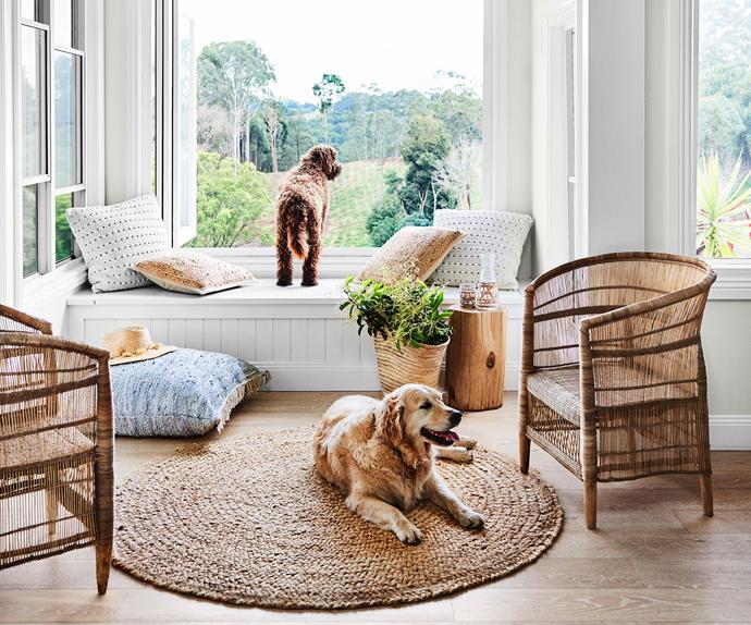 Coastal style living room