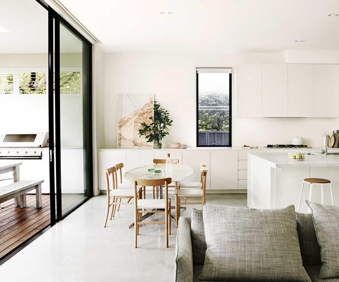 An Edwardian house received a family-friendly update