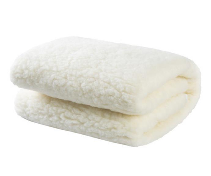 """**[Australian wool underlay 300GSM, $79 (Queen), Temple and Webster](https://www.templeandwebster.com.au/Australian-Wool-Underlay-300-GSM-9009-DRMK1035.html