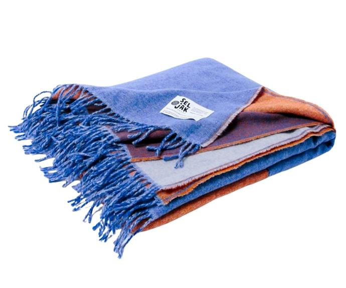 """**[Seljak recycled wool fringe blanket in lune, $329, Biome](https://www.biome.com.au/healthy-home/30242-seljak-recycled-wool-blanket-fringe-lune.html