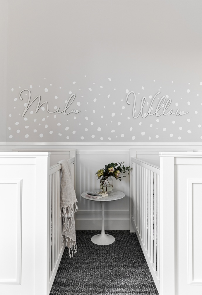 """The profile of the wainscoting in [this neutral nursery](https://www.homestolove.com.au/contemporary-family-new-build-sydney-22465