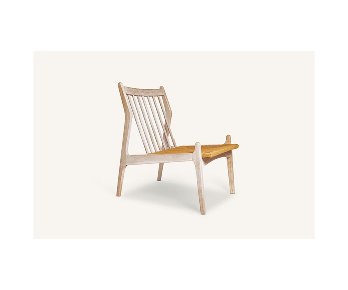 """**Georgio Chair, $790, [MCM House](https://www.mcmhouse.com/collections/armchairs/products/georgio-chair