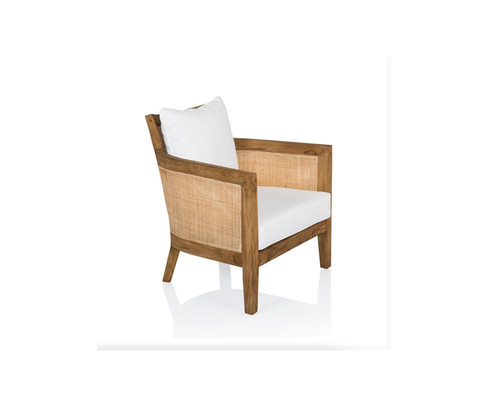 """**Mumba Occasional Chair, $1,795, [Coco Republic](https://www.cocorepublic.com.au/mumba-occasional-chair-56