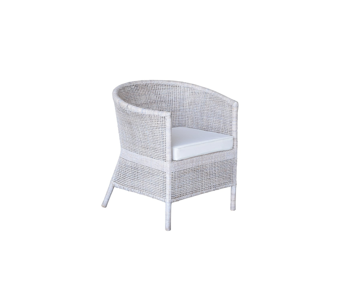 """**Verandah Chair, $529, [Interiors Online](https://interiorsonline.com.au/products/verandah-chair-1