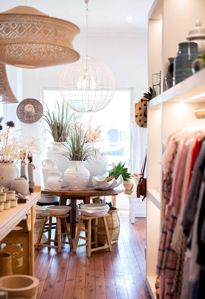 From fashion to jewellery, small homewares and even larger furniture items, The White Place is the ultimate destination for those who love coastal, boho or eclectic styles.