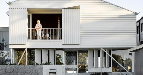 A classic Queenslander home with a modern twist