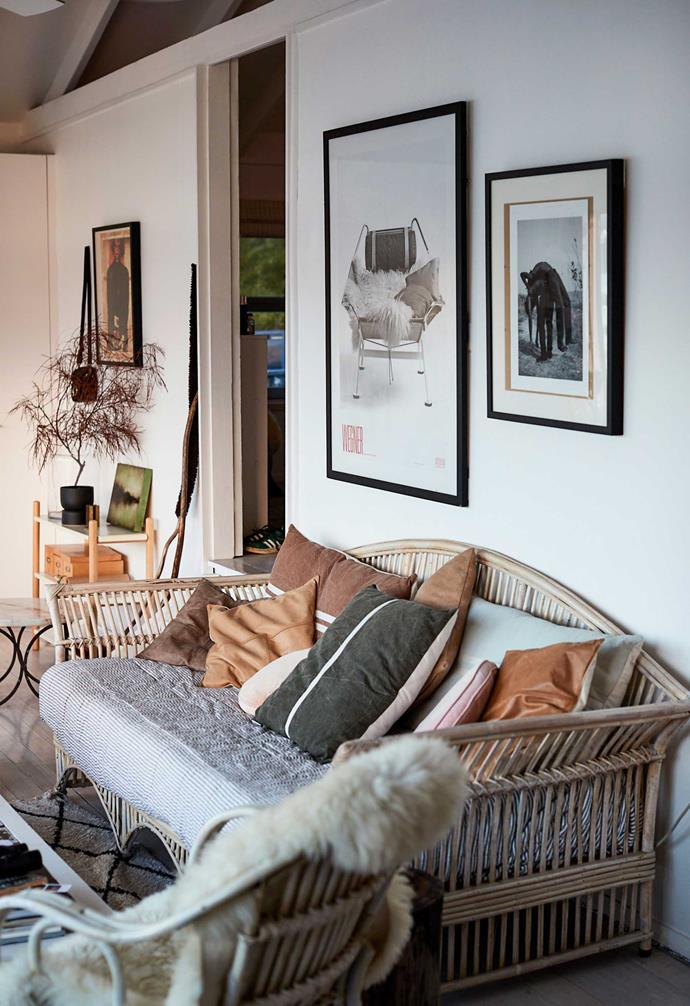 When interiors writer and stylist Deborah went to live in her dream boathouse north of Sydney, it came furnished with the basics so she only brought a few things with her and added key vintage or recycled pieces.