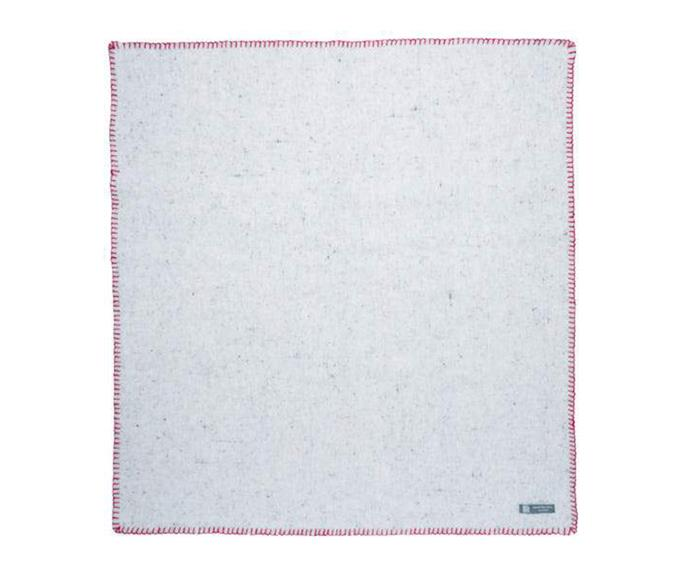 """**[Recycled wool pet blanket in whipped red, $89, Waveley Mills](https://waverleymills.com/products/pet-blanket-whipped-red