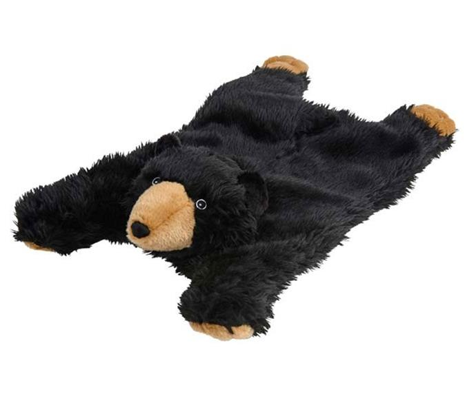 """**[Bear plush dog blanket in black, $19.99 (or buy 2 for $30), PetBarn](https://www.petbarn.com.au/leaps-bounds-bear-plush-dog-blanket-black-56cm