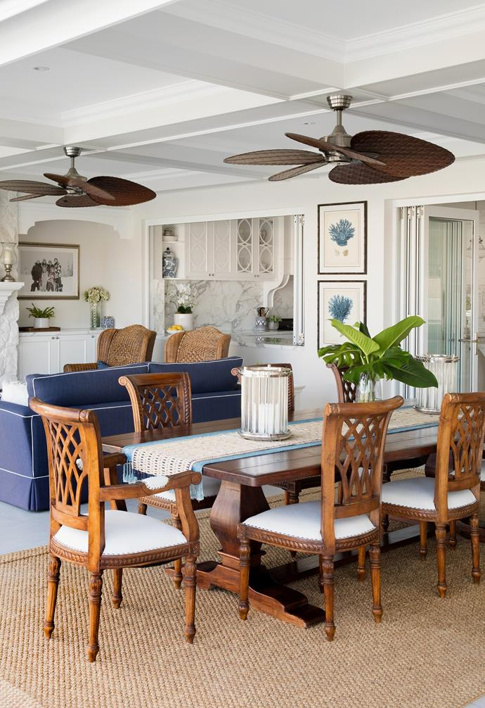 There's a lot to be said about the feel-good effects of living by the water. For Queensland couple Michelle and Troy, it sealed the deal on their riverfront Gold Coast home, which they share with their twin daughters, Jade and Jemma, 13. To maximise the location and create an idyllic Hamptons-style haven, the entire place was renovated inside and out.