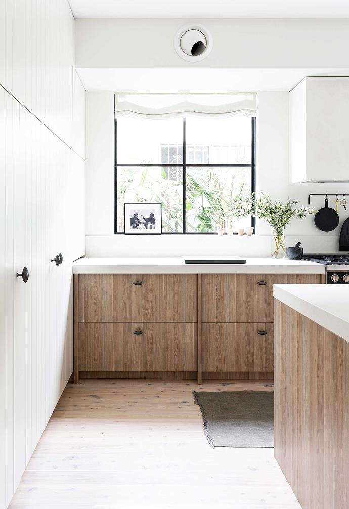 """**Kitchen** Wilton door pulls from [Mother Of Pearl & Sons](https://motherofpearl.com/