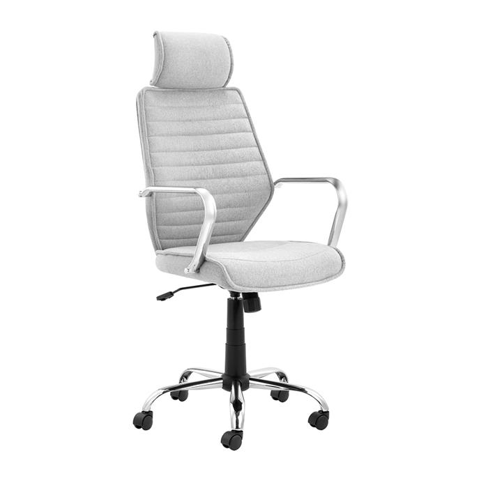 """**Grey Nate executive office chair, $169, [Temple & Webster](https://www.templeandwebster.com.au/Grey-Nate-Executive-Office-Chair-CDNTOGRF-TPWT2871.html?refid=GPAAU447-TPWT2871#view-image