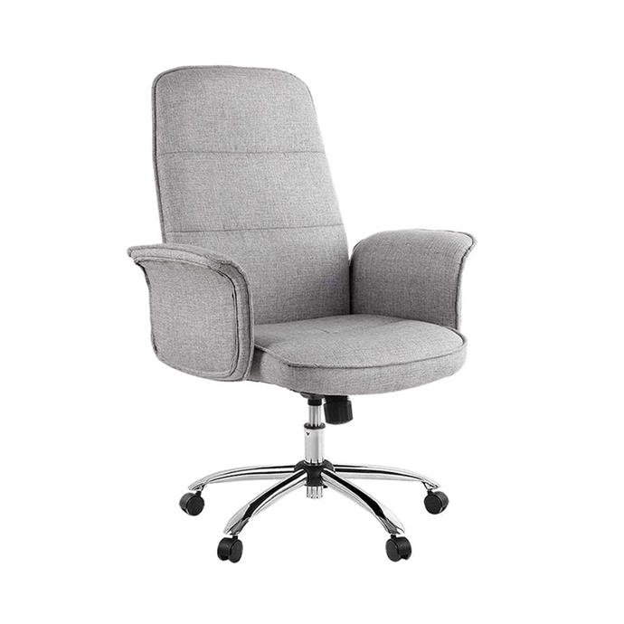 """**Resort Living 'Lamech' office chair, $209.95, [Zanui](https://www.zanui.com.au/Lamech-Office-Chair-151857.html