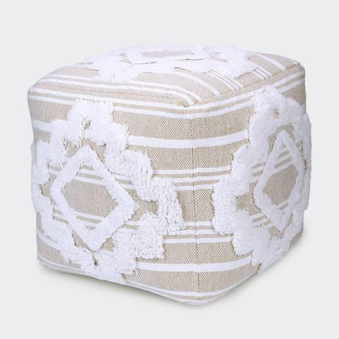 """Get cosy on the couch and put your feet up on this stylish [Natural Diamond Ottoman](https://www.kmart.com.au/product/natural-diamond-ottoman/3485331