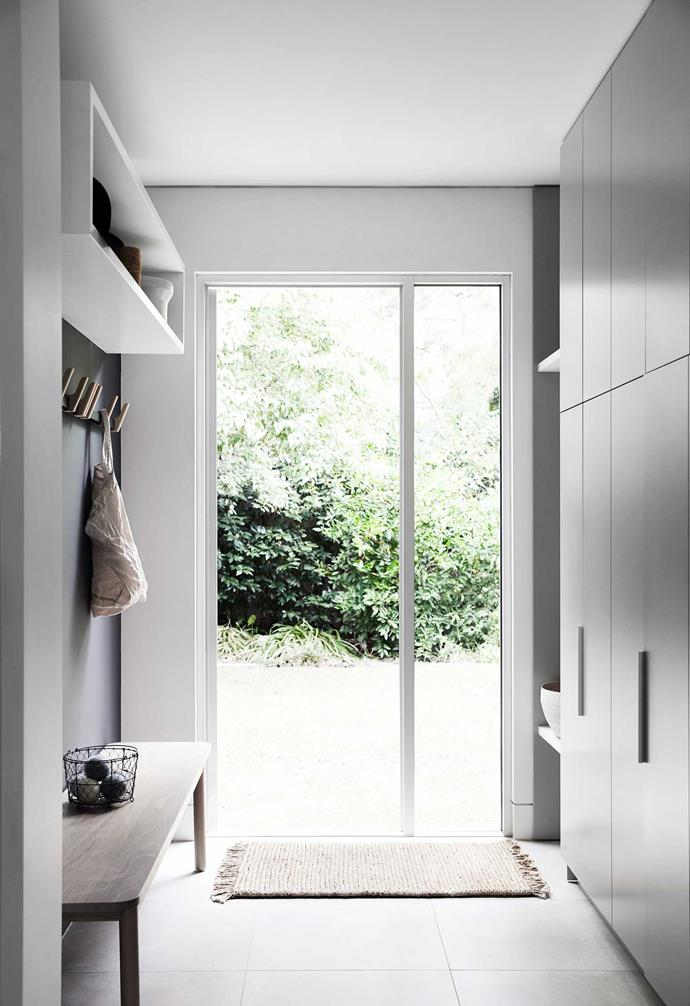 """With cool tones and a serene feel, this lovely laundry by [Carole Whiting](https://www.carolewhiting.com/work