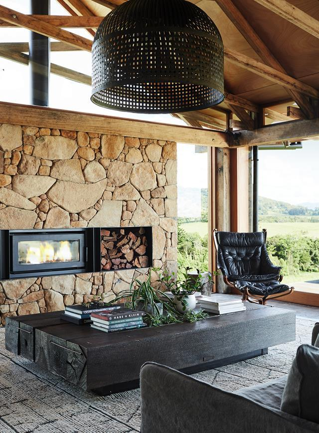 """A standout feature of this new [barn-style home](https://www.homestolove.com.au/barn-home-byron-bay-hinterland-22459
