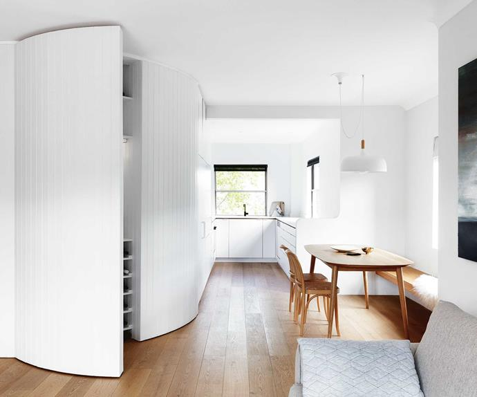 A Sydney apartment's all-white minimalist makeover