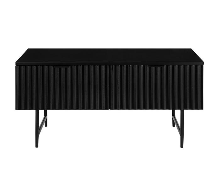 """**Edinburgh Collection 'Shangri-La' coffee table, $149, [Kogan](https://www.mattblatt.com.au/mb/buy/shangri-la-coffee-table-edinburgh-collection-black