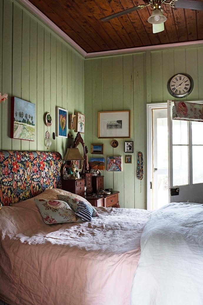 Keiran and John's bedroom.