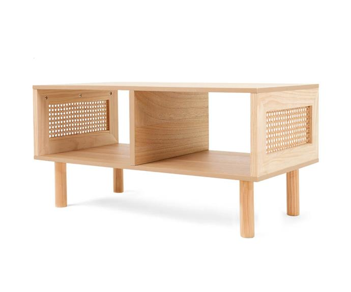 """**Rattan coffee table, $39, [Kmart](https://www.kmart.com.au/product/rattan-coffee-table/3058323