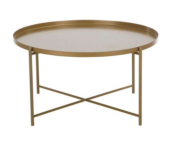 """**Habibi coffee table, $195, [Replica Furniture](https://www.replicafurniture.com.au/tables/habibi-coffee-table-replica