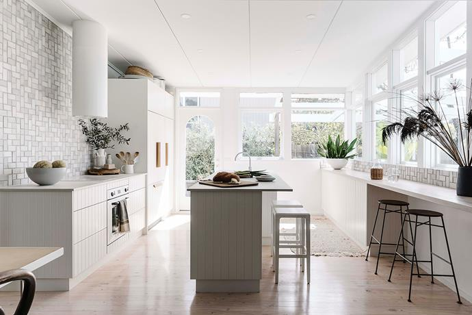 """Bec designed the kitchen and worked with local cabinet maker [Burmak Cabinets](http://www.burmakcabinets.com.au/