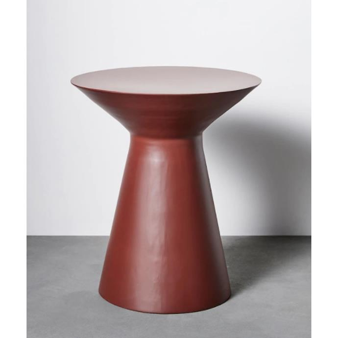 """**[Bruno side table, $69](https://www.target.com.au/p/bruno-side-table/64456379