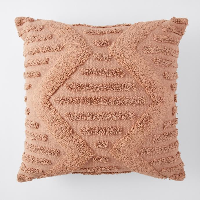 """**[Margot tufted cushion, $25](https://www.target.com.au/p/margot-tufted-cushion/64240275