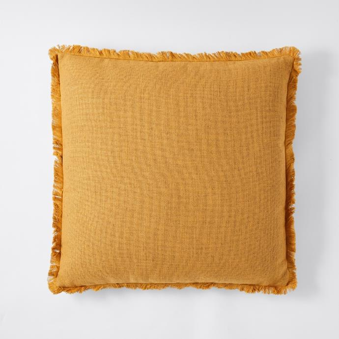 """**[Mariana fringed cushion, $16](https://www.target.com.au/p/mariana-fringed-cushion/64026084