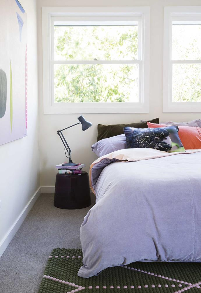 """**Master bedroom** Vibrant [Kip & Co](https://kipandco.com.au/