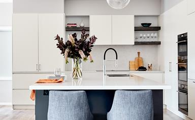 A striking Sydney home with a vivid palette