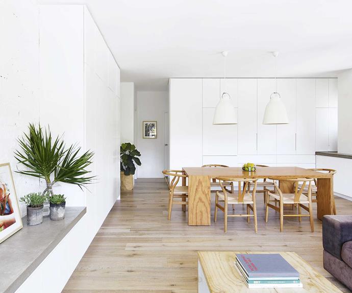 Architect Rachel Hudson gave her apartment a light-filled revamp