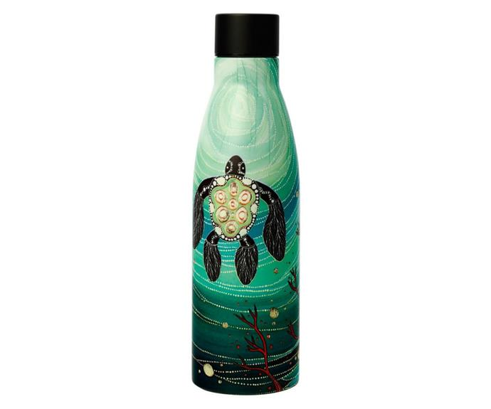 """[**Melanie Hava Jugaig-bana-Wabu double wall insulated bottle by Maxwell & Williams, $24.95 (500mL), Myer**](https://www.myer.com.au/p/maxwell-williams-melanie-hava-jugaig-bana-wabu-double-wall-insulated-bottle-500ml-turtles