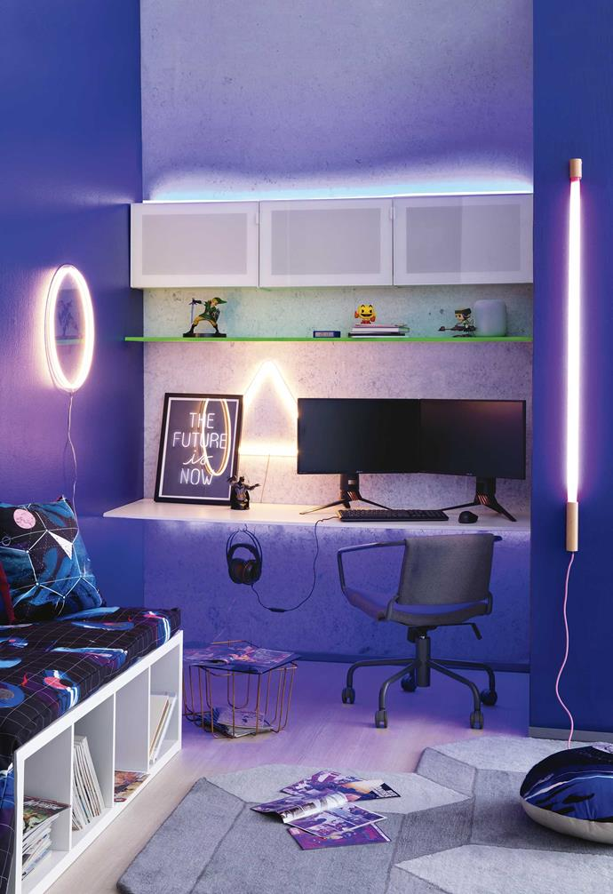 Ensure your gaming setup has plenty of light to reduce strain on the eyes.