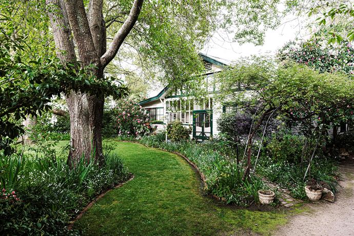 The 1920s home was once owned by an opera singer and was a setting for smart dinner parties during the 1930s and '40s.