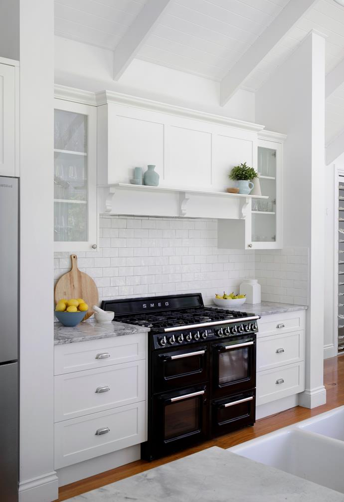 A Smeg 1100mm freestanding cooker from Harvey Norman was a kitchen must.