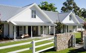 A contemporary farmhouse-style home in the Gold Coast Hinterland