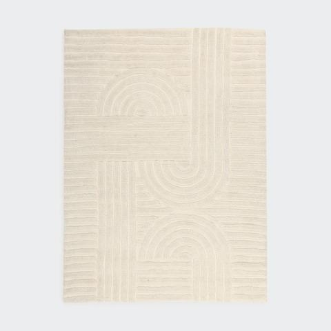 """**Arch Wool Blend Rug in Medium, $69, [Kmart](https://www.kmart.com.au/product/arch-wool-blend-rug---medium/2961351
