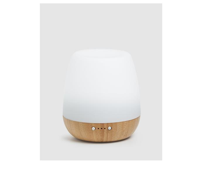 """**Eco. Modern Essentials Bliss Diffuser, $90, [The Iconic](https://www.theiconic.com.au/eco-bliss-diffuser-1102558.html