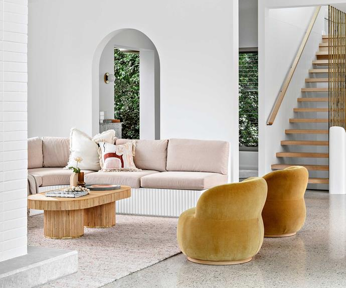 An Art Deco beach home's resort-style makeover