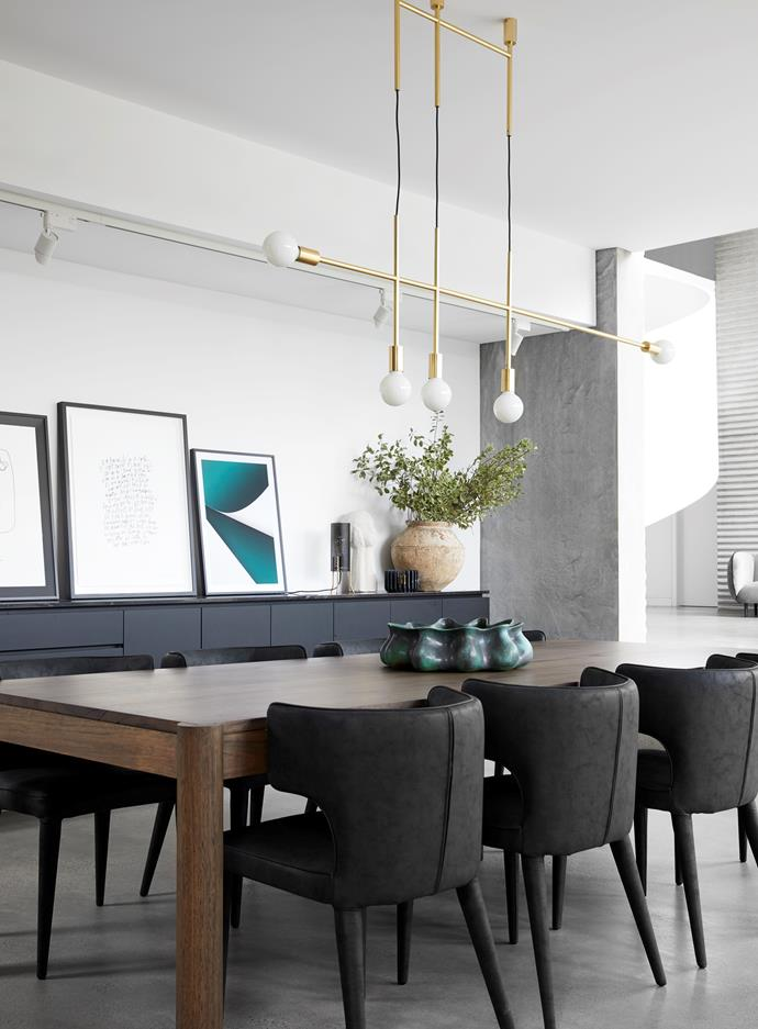 """The interiors of [Guy Sebastian's contemporary family home](https://www.homestolove.com.au/guy-sebastian-house-20443