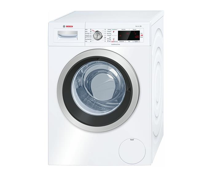 """**Bosch 8kg Front Load Washer, $1899, 1199, [The Good Guys](https://www.thegoodguys.com.au/bosch-8kg-front-load-washer-waw28460au