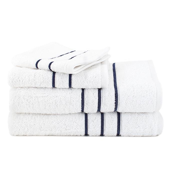 """**Hotel Collection 4 Piece Towel Set, $79.99, [Canningvale](https://www.canningvale.com/hotel-collection-4-piece-towel-set/?nosto_source=cmp&amp;nosto=60c2ef54198394511f76a2ef